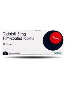 Tadalafil 5mg tablets pack of 28
