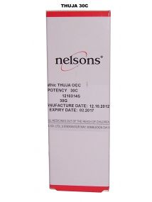 Nelsons Homeopathic Thuja OCC High Potency 30C Cream 30g