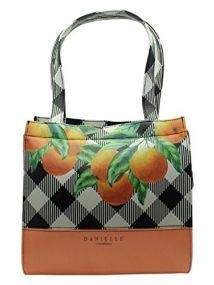 Danielle ORANGE Lunch Tote Bag