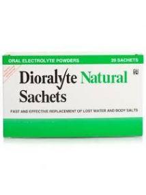 Dioralyte natural Oral Electrolyte Powder - 20 Sachets