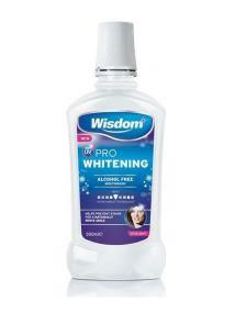 Wisdom UV PRO Whitening Alcohol Free Mouthwash 500ml