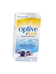 Optive Plus eye drops 10ml
