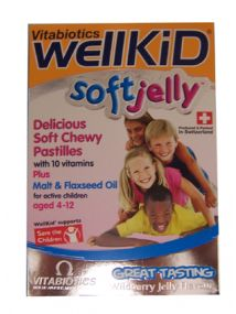 WellKid Soft Jelly Pastilles x30