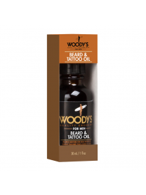 Woody's Quality Grooming FOR MEN Beard  & Tattoo Oil 30ml
