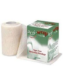 Acti-wrap bandage latex free 8cm x 4m