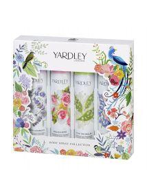 Yardley London Body Spray Collection