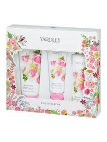 Yardley English Rose 3 Piece Gift Set