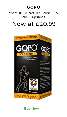 Gopo from 100% Natural Rose Hip 200 Capsules